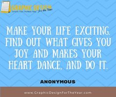 Enough #Graphics for the Entire #Year! 520! No more #Social #Media #Anxiety ! We can help you be a social media guru! Fast! Make your Life Exciting. Find out what gives you Joy and makes your heart Dance, and Do it. -Anonymous - www.GraphicDesignfortheYear.com
