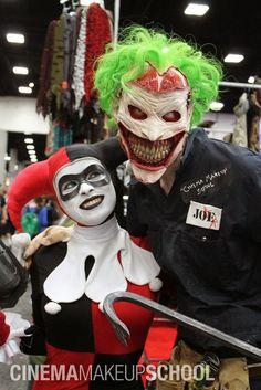 Protésis y maquillaje de Cara terriblemente espeluznante de New 52 Joker - GeekTyrant en Español