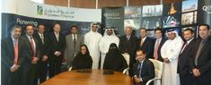 group photo during signing of agreement
