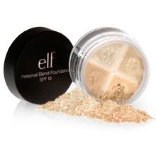 e.l.f. Mineral Personal Blend Foundation SPF 15 in Light