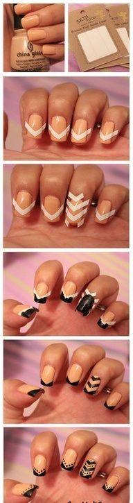 #nailart- be creative in doing your nails with this easy step by step guide.