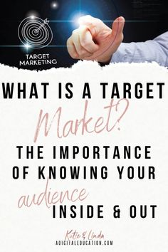 Find out how to define a target market for your creative business. You'll learn how to find your ideal customer and market to the right audience. Creative Business, Business Ideas, Seo For Beginners, Starting Your Own Business, Target Audience, Make Money Blogging, Pinterest Marketing, Entrepreneurship, Online Business