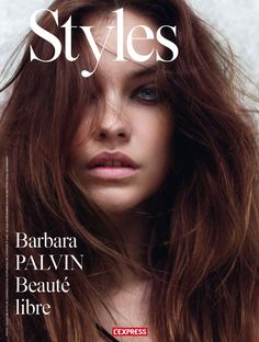 Barbara Palvin a rock and roll goddess style Pose on L'Express Styles December 2015 issue cover shoot