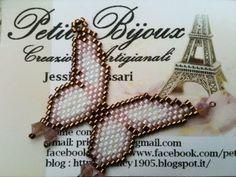 In questo tutorial vi mostro i passaggi chiave per realizzare una farfalla in Brick stitch.    schema : http://1.bp.blogspot.com/_gDtvlEZR3s4/Smo6AfYXauI/AAAAAAAAAXI/Yo6qhFvpa-s/s320/Peyote+griglia+farfalla.JPG
