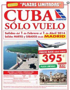 cuba,vuelos desde 395,00 €