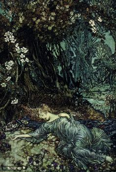 Arthur Rackham (1867-1939) - Illustration pour A Midsummer Night's Dream