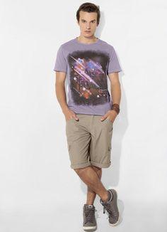Camiseta Roxa Mineral