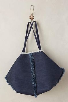 Gardien Denim Tote - #anthrofave