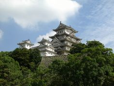 Himeji Castle near Kyoto. Remember to rent a bike from the JR station if you ever go. It is a tranquil place to just bike around and experience Japanese daily life. Also, visiting this world heritage castle is a must too! You can spend all day in Himeji!