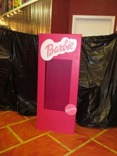 Suzanne C's Birthday / Barbie silhouette - Photo Gallery at Catch My Party Barbie Theme Party, Barbie Birthday Party, Girl Birthday Themes, Birthday Parties, 5th Birthday, Birthday Ideas, Barbie Box, Sleepover Party, Spa Party