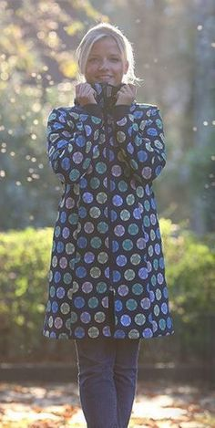 Damenmantel mit Zipper - Anleitung via Makerist.de