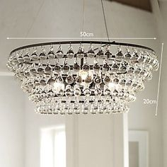 Solid Glass Orb Ceiling Light   The White Company