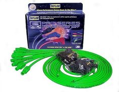 Taylor Cable 78555 8mm Spiro Pro Ignition Wire Set Universal Fit