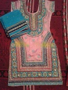 Ethnic Bollywood Patiala Punjabi Indian designer Festival Party wear suit