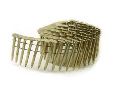 BandC Eagle CR-134 Round Head 1-3/4-Inch x .120 Smooth Shank Electrogalvanized Coil Roofing Nails (7,200 per box) * Want additional info? Click on the image.