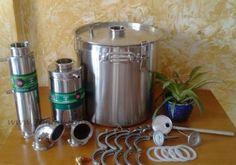 30L Alcohol Distiller Spirits Brewing Ethanol Moonshine Still Stainless Boiler