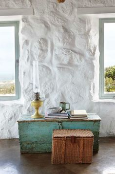 a rustic beach cottage near paternoster, south africa
