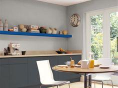 14 idees couleurs déco pour associer du gris à un bleu