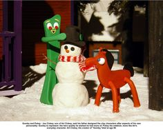 Gumby and Pokey~ I never missed this show!