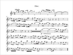 Oboe, Sheet Music, Play, Youtube, Concert, Music, Music Score, Music Charts, Music Sheets