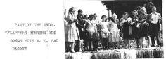 1959 Local ladies sing at village celebration