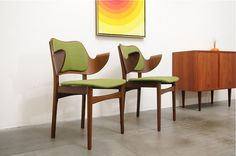 Hans Olsen Chairs for Bramin, Denmark 1950s