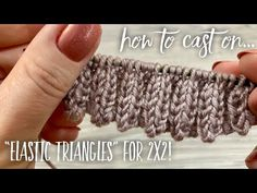 Knitting Paterns, Knitting Videos, Lace Knitting, Knitting Stitches, Knitting Designs, Knit Crochet, Crochet Patterns, Triangles, Crochet Necklace
