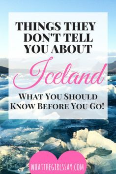 Things they don't tell you about Iceland