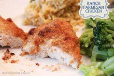 ranch parmesan chicken dinner