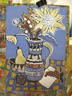 Юные художники 2017-2018 Projects For Kids, Art Projects, 7th Grade Art, Kids Part, Middle School Art, Arts Ed, Elementary Art, Art Education, Mixed Media Art