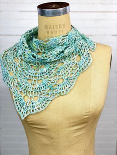On Point Shawlette/Shawl (Crochet) – YarnYAY!