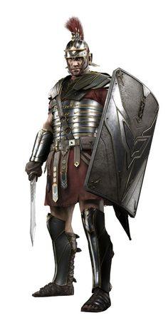 Legionario Armors t Roman Rome and Roman empire Armor Of God, Suit Of Armor, Fantasy Armor, Medieval Fantasy, Ryse Son Of Rome, Rome History, Roman Armor, Roman Warriors, Roman Legion