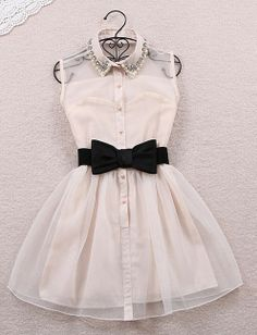 dress bow... soon available in size S-M-L  also in black...  love this dress<3<3<3