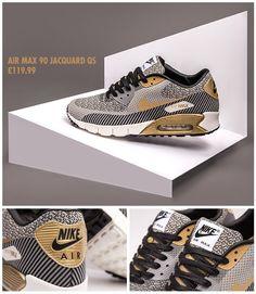 los angeles 0e9ed 0fac4 Nike Air Max 90 Jacquard QS Gold Hypervenom Nike Air Max For Women, Nike