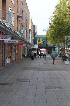 Straat richting Kroon passage.