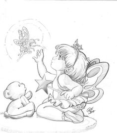 Little Fairy by *crisdelarastudio on deviantART