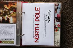 Add an envelope to December Daily for misc, notes, etc. December Daily, Daily Day, Christmas Scrapbook Layouts, Scrapbook Paper Crafts, Scrapbook Albums, Scrapbooking Layouts, Paper Crafting, Christmas Journal, Christmas Albums
