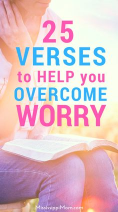Prayer quotes:Do you tend to worry? What does the Bible say about worry, and how can we overcome it? 25 Bible verses to help you overcome worry! Christian Marriage, Christian Faith, Christian Living, Christian Women, Scripture Quotes, Bible Verses, Scriptures, Prayer Quotes, Sisters In Christ