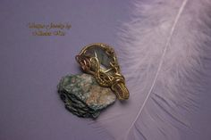 Handmade Unique Copper Wire Wrapped by NikolettKissJewelry on Etsy