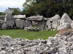 A Stone Palace, Creevykeel Passage Tomb: Creevykeel, Co Sligo. Ireland