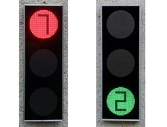 From red light to red light, you never quite know how long you'll be waiting for the green! This concept by Alexander Sheremeta proposes a countdown so drivers know exactly how long they've got whether they're moving or stopped. The result is safer intersections because both drivers and pedestrians are more prepared to stop or go! #YankoDesign