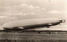 LZ-17 Sachsen landing.