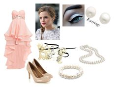 """Hermione's Outfit"" by macyethao ❤ liked on Polyvore featuring Monsoon, Emma Watson, Topshop, Reeds Jewelers and Thomas Sabo"