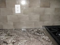bianco antico granite with gray subway tiles remodel pinterest