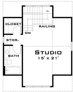 Bungalow Carriage House - 44051TD | 2nd Floor Master Suite, CAD Available, Carriage, Metric, PDF | Architectural Designs