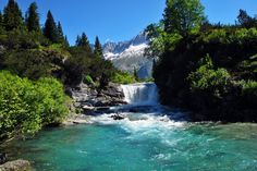 headwaters of the fiume Chiese, the tributary of Lake Idro, IT - via web