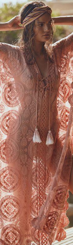 @BlackCoral4you LOVE. Bohemian kaftan and head Wrap make a gorgeous look  Boho Style, Boho Accessories