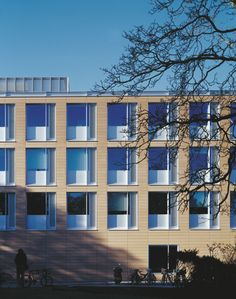 Faculty of English, Cambridge University - designed by Allies & Morrison http://www.alliesandmorrison.com/projects/chronology/2004/faculty-english/