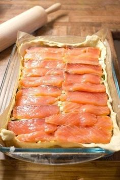 Fish Recipes, Meat Recipes, Seafood Recipes, Baking Recipes, Healthy Recipes, Savoury Baking, Food Dishes, Food And Drink, Meals