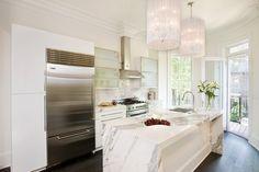 White little kitchen
